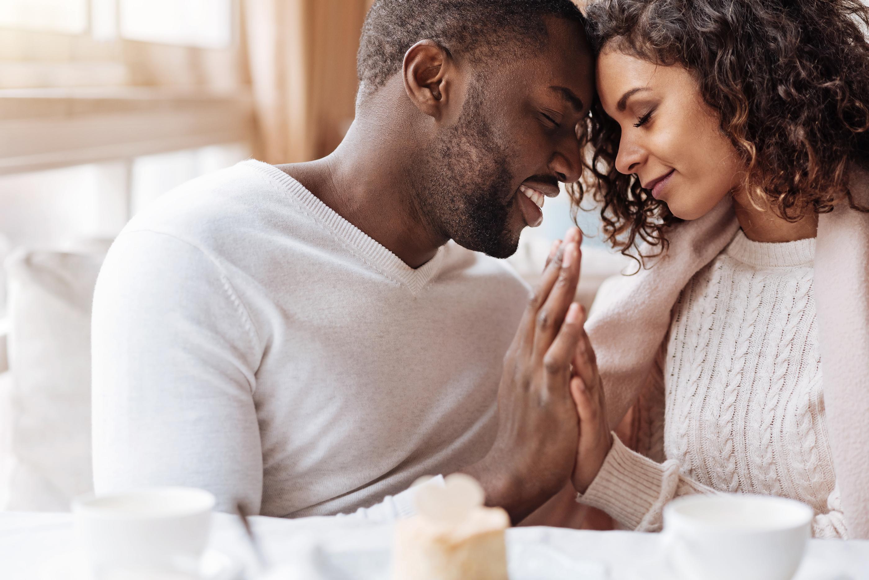 black loving couple